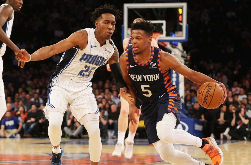 Dennis Smith has long been a focus of Orlando Magic fans. But acquiring him would not be wise. Mandatory Credit: Andy Marlin-USA TODAY Sports