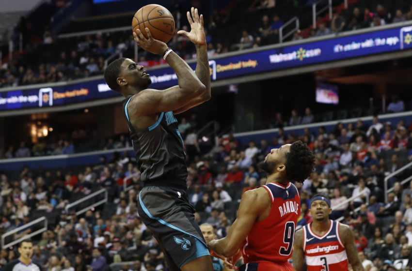 Dwayne Bacon gained plenty of experience with the Charlotte Hornets even if he struggled to get ooff the bench consistently. Mandatory Credit: Geoff Burke-USA TODAY Sports