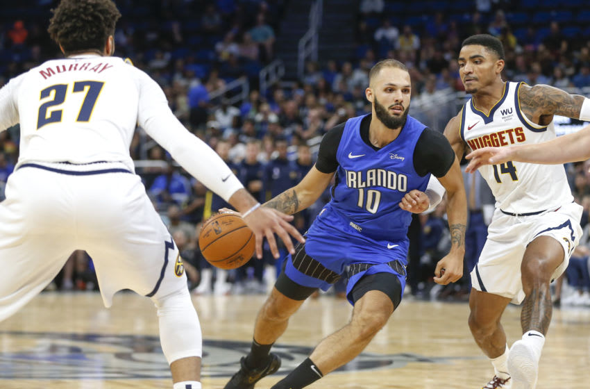 The Orlando Magic will have Evan Fournier in their back pocket as they enter free agency. Mandatory Credit: Reinhold Matay-USA TODAY Sports