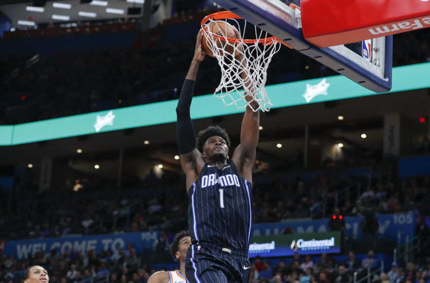 Jonathan Isaac's return to the court will provide a big boost to the Orlando Magic. Mandatory Credit: Alonzo Adams-USA TODAY Sports