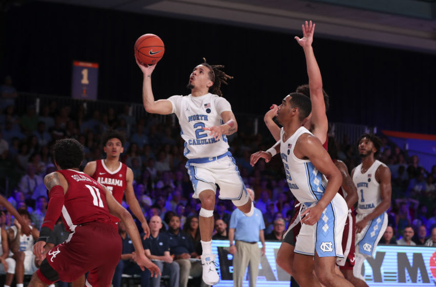Cole Anthony's careere at North Carolina got off to a blistering start. But it was no easy ride for the high school star. Mandatory Credit: Kevin Jairaj-USA TODAY Sports