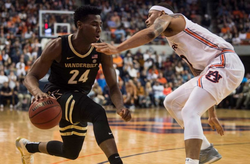 Vanderbilt guard Aaron Nesmith is considered one of the top shooters in the 2020 NBA Draft class. Jc Auburnvandy 20