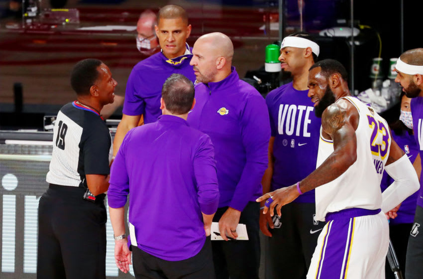 The Orlando Magic appear set to interview Los Angeles Lakers assistant coach Jason Kidd for their vacant head coaching job. Mandatory Credit: Kim Klement-USA TODAY Sports