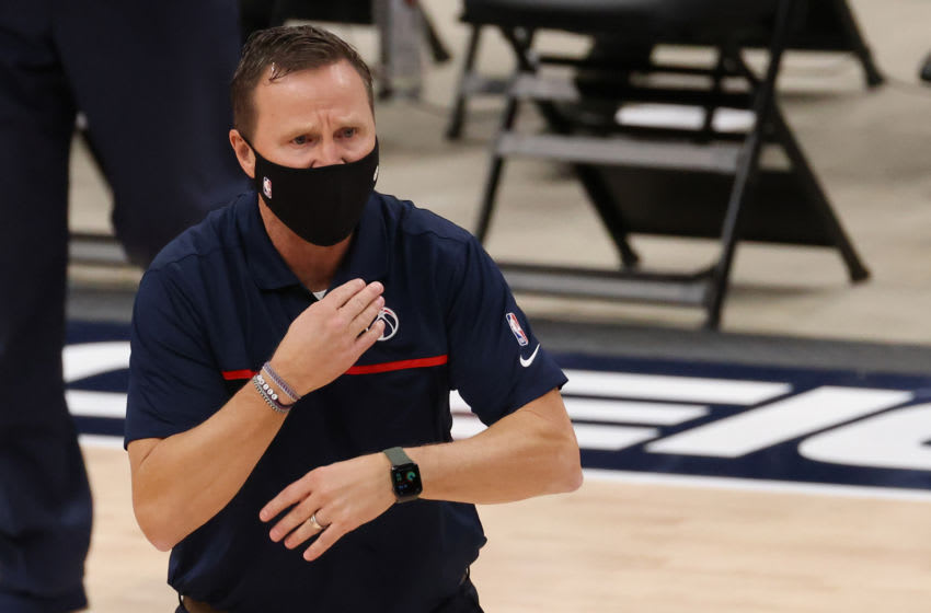 The Washington Wizards' dismissal of Scott Brooks has opened up another head coaching job in the NBA. Mandatory Credit: Geoff Burke-USA TODAY Sports