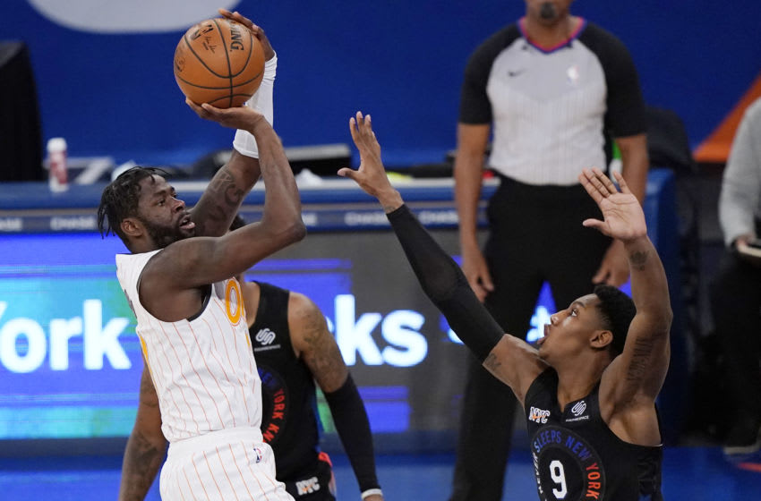 The Orlando Maagic retained James Ennis for familiarity and defense. But his poor shooting and inconsistency has left the Magic bare. Mandatory Credit: Kathy Willens/Pool Photo-USA TODAY Sports