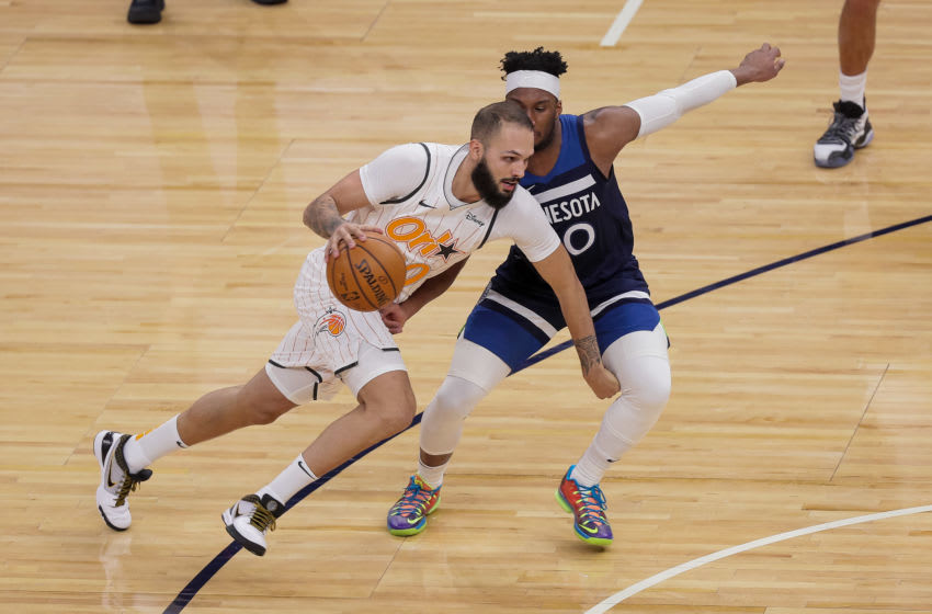 Evan Fournier's return has given the Orlando Magic a major offensive boost. Mandatory Credit: Brad Rempel-USA TODAY Sports