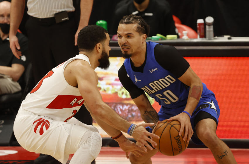 Cole Anthony is still finding his way through his rookie year with the Orlando Magic. Mandatory Credit: Kim Klement-USA TODAY Sports