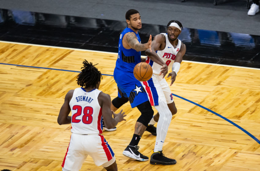 Chuma Okeke has stood out in his short stint with the Orlando Magic so far as his defensive sense has earned him a key role for the team. Mandatory Credit: Mary Holt-USA TODAY Sports