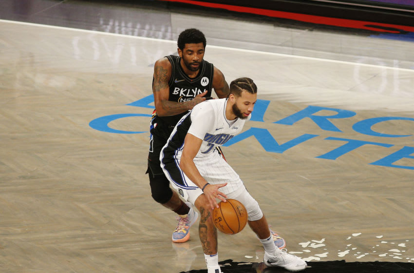 The Orlando Magic's turnover problems came front and center in a blowout loss to the Brooklyn Nets. Mandatory Credit: Andy Marlin-USA TODAY Sports