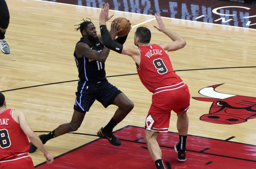 James Ennis had a season-best game to lead the Orlando Magic to a win over the Chicago Bulls. Mandatory Credit: Mike Dinovo-USA TODAY Sports