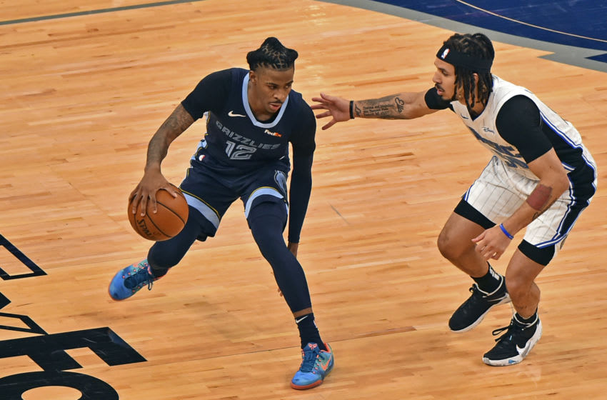 The Orlando Magic's defense has been a work in progress since the team made the trades at the trade deadline. Mandatory Credit: Justin Ford-USA TODAY Sports