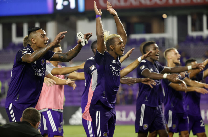 The Orlando Magic bought into Orlando City as the two teams draw closer together. Mandatory Credit: Kim Klement-USA TODAY Sports