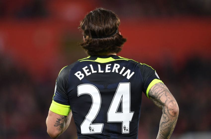SOUTHAMPTON, ENGLAND - MAY 10: Hector Bellerin of Arsenal during the Premier League match between Southampton and Arsenal at St Mary's Stadium on May 10, 2017 in Southampton, England. (Photo by Stuart MacFarlane/Arsenal FC via Getty Images)