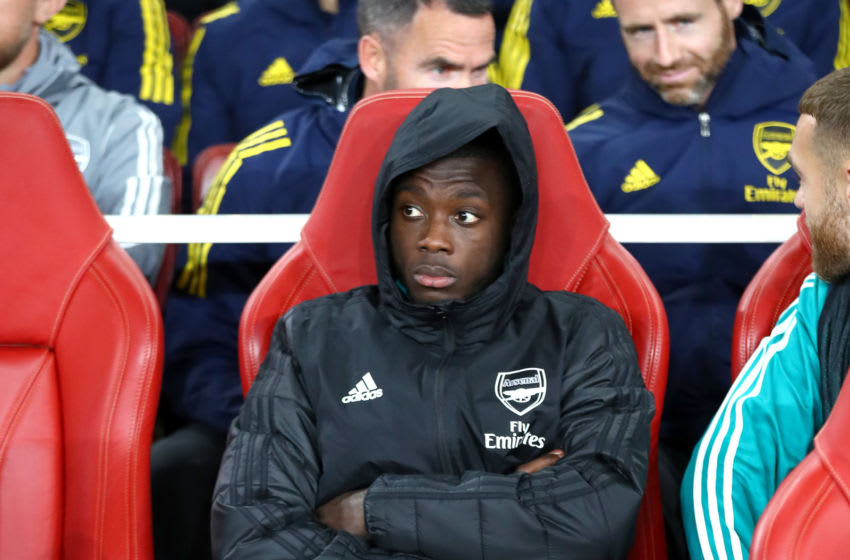 Arsenal, Nicolas Pepe (Photo by Julian Finney/Getty Images)