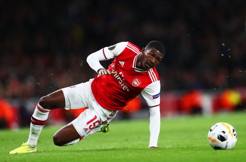 Arsenal, Ainsley Maitland-Niles (Photo by Dan Istitene/Getty Images)