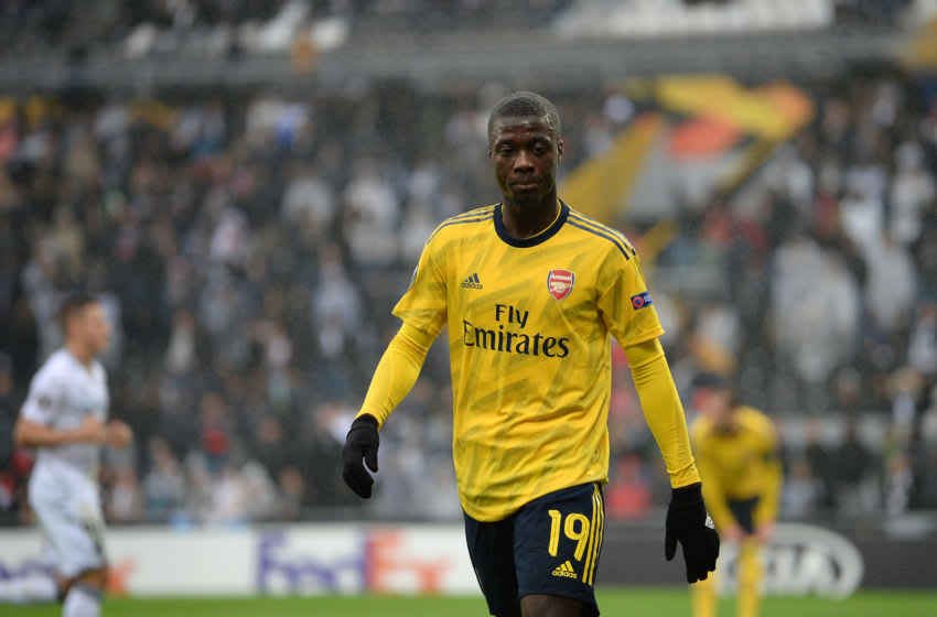 Arsenal, Nicolas Pepe (Photo by Octavio Passos/Getty Images)