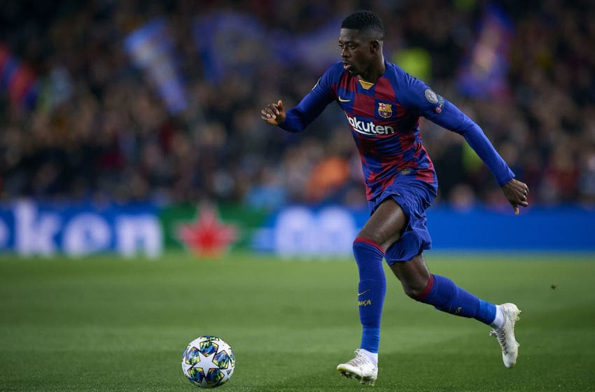 Arsenal, Ousmane Dembele (Photo by Pablo Morano/MB Media/Getty Images)