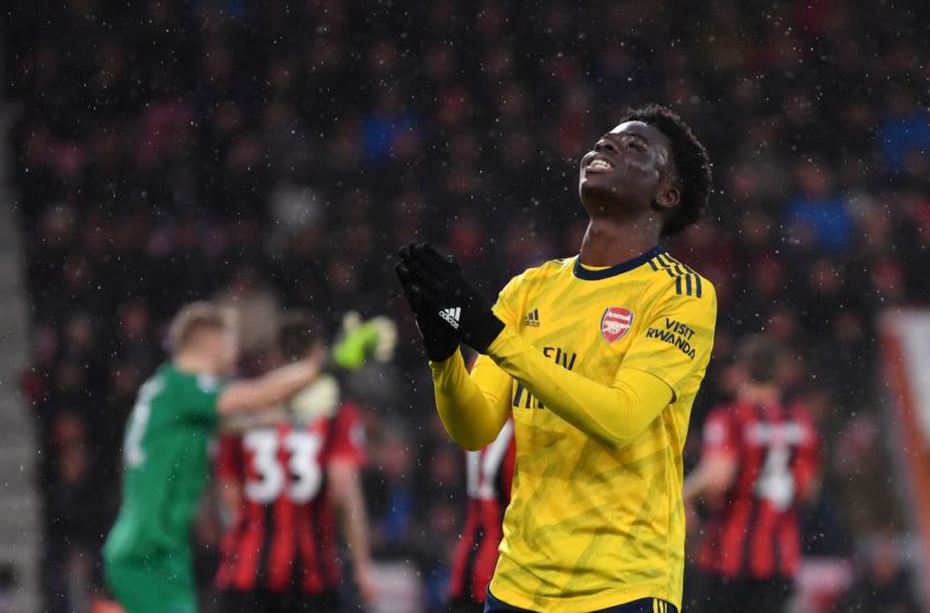 Arsenal, Bukayo Saka (Photo by Dan Mullan/Getty Images)