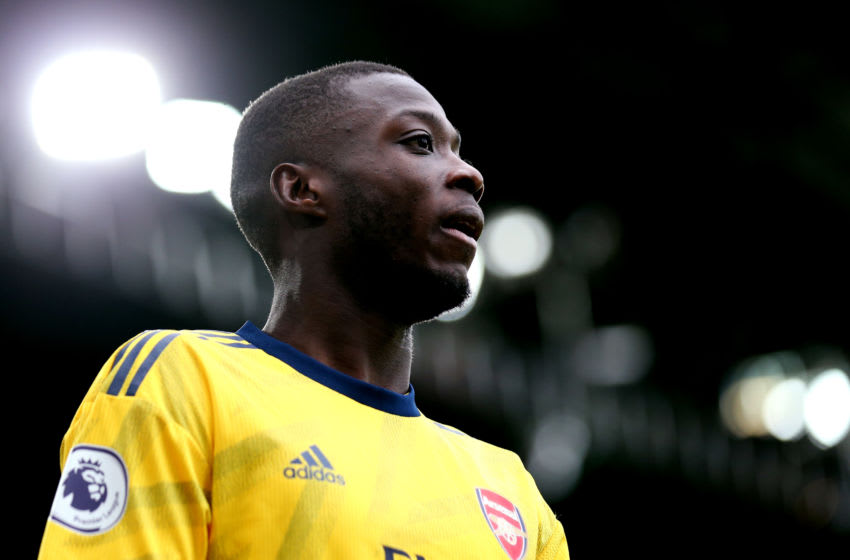 Arsenal, Nicolas Pepe (Photo by Alex Pantling/Getty Images)