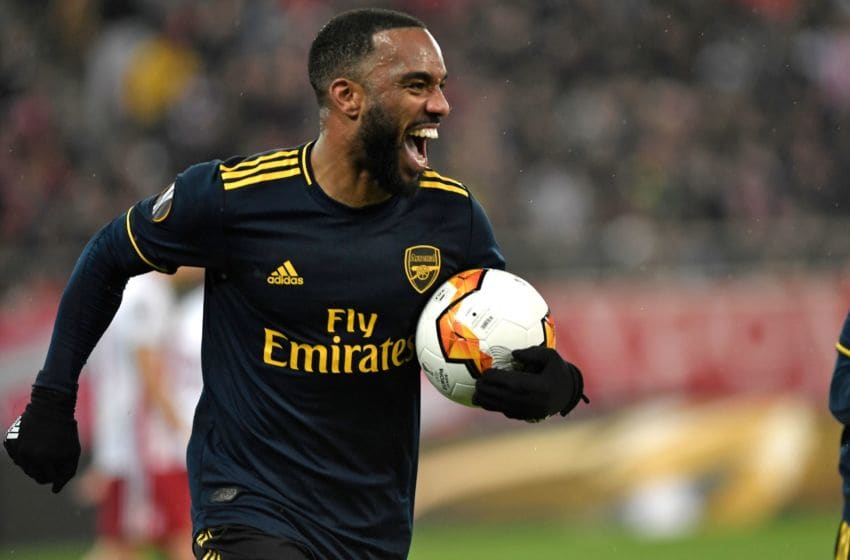 Arsenal, Alexandre Lacazette (Photo by LOUISA GOULIAMAKI/AFP via Getty Images)