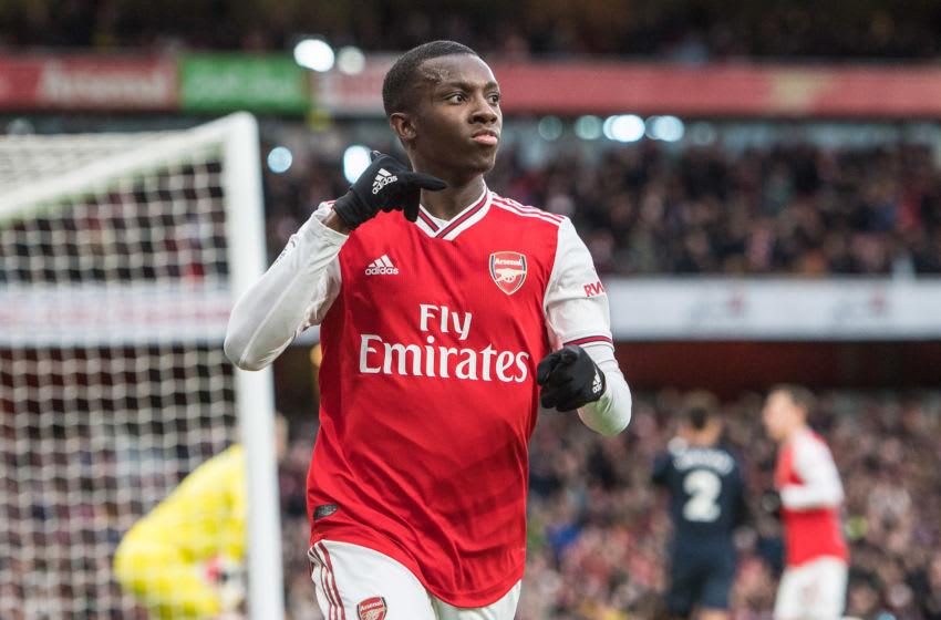 Arsenal, Eddie Nketiah (Photo by Sebastian Frej/MB Media/Getty Images)