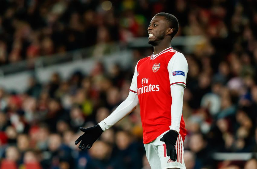 Arsenal, Nicolas Pepe (Photo by Roland Krivec/DeFodi Images via Getty Images)