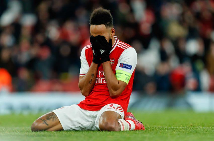 Arsenal, Pierre-Emerick Aubameyang (Photo by Roland Krivec/DeFodi Images via Getty Images)