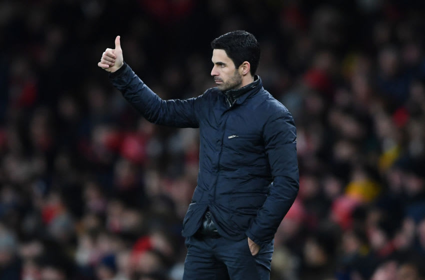 Arsenal, Mikel Arteta (Photo by Harriet Lander/Copa/Getty Images)
