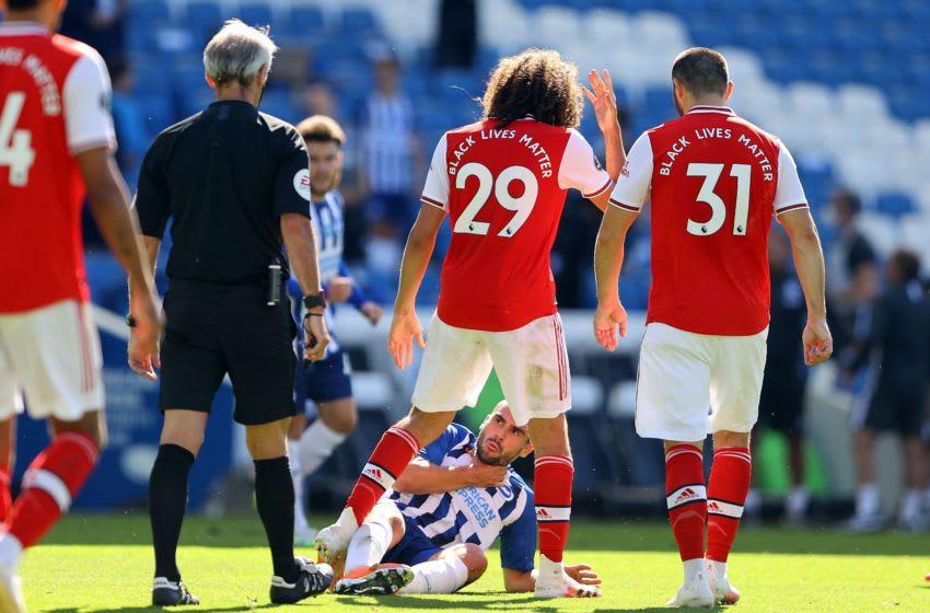 Arsenal, Matteo Guendouzi (Photo by RICHARD HEATHCOTE/POOL/AFP via Getty Images)
