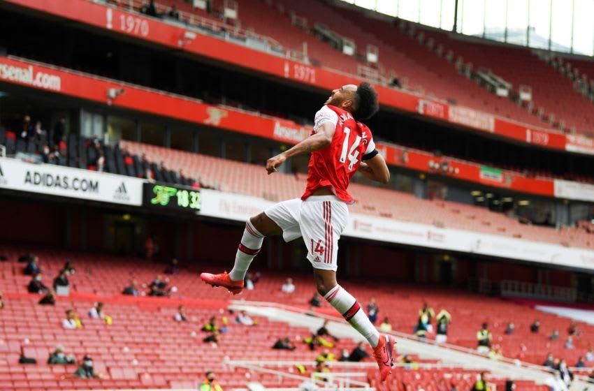 Arsenal, Pierre-Emerick Aubameyang (Photo by SHAUN BOTTERILL/POOL/AFP via Getty Images)