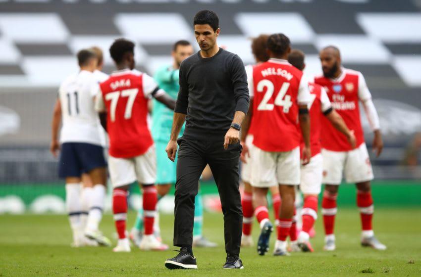Arsenal, Mikel Arteta (Photo by JULIAN FINNEY/POOL/AFP via Getty Images)
