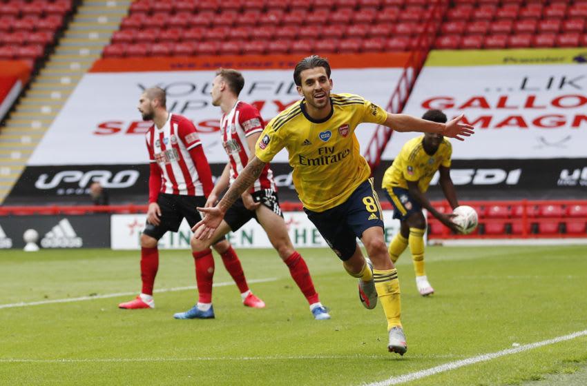 Arsenal, Dani Ceballos (Photo by Andrew Boyers/Pool via Getty Images)