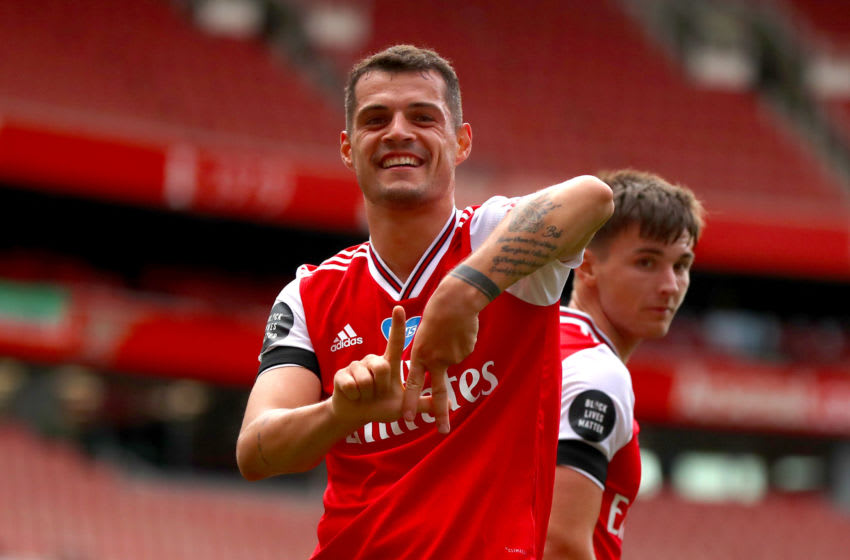 Arsenal, Granit Xhaka (Photo by Chloe Knott - Danehouse/Getty Images)