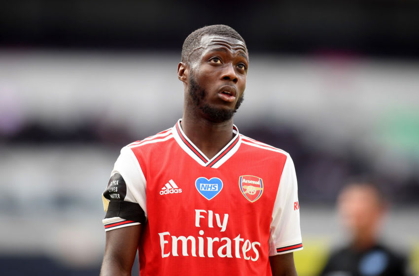 Arsenal, Nicolas Pepe (Photo by Michael Regan/Getty Images)