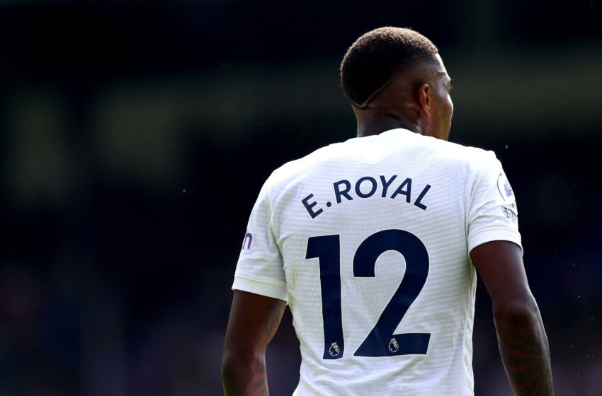 LONDON, ENGLAND - SEPTEMBER 11: Emerson Royal of Tottenham Hotspur during the Premier League match between Crystal Palace and Tottenham Hotspur at Selhurst Park on September 11, 2021 in London, England. (Photo by Chloe Knott - Danehouse/Getty Images)