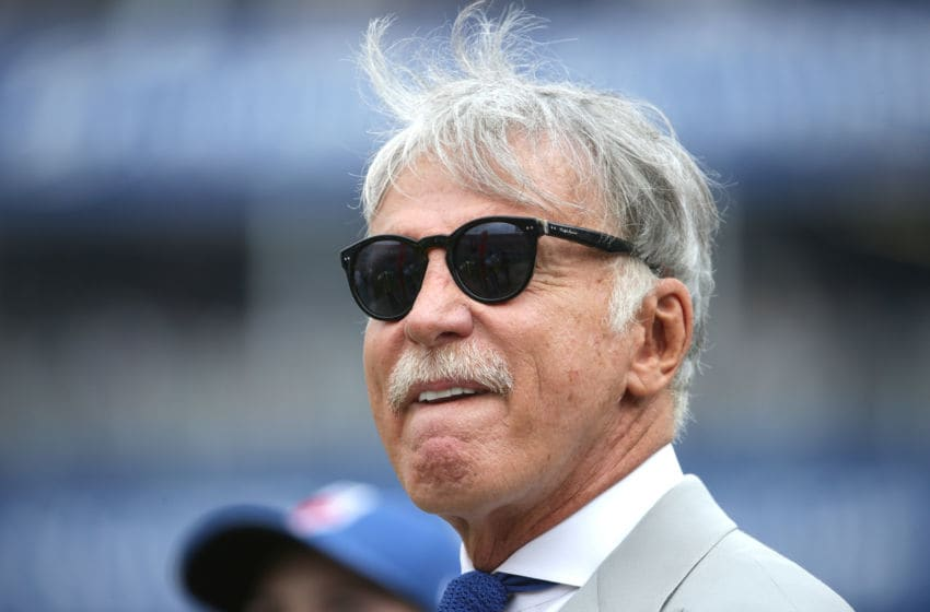 LOS ANGELES, CA - SEPTEMBER 17: Stan Kroenke owner of the Los Angeles Rams before the game against the Washington Redskins at Los Angeles Memorial Coliseum on September 17, 2017 in Los Angeles, California. (Photo by Jeff Gross/Getty Images)