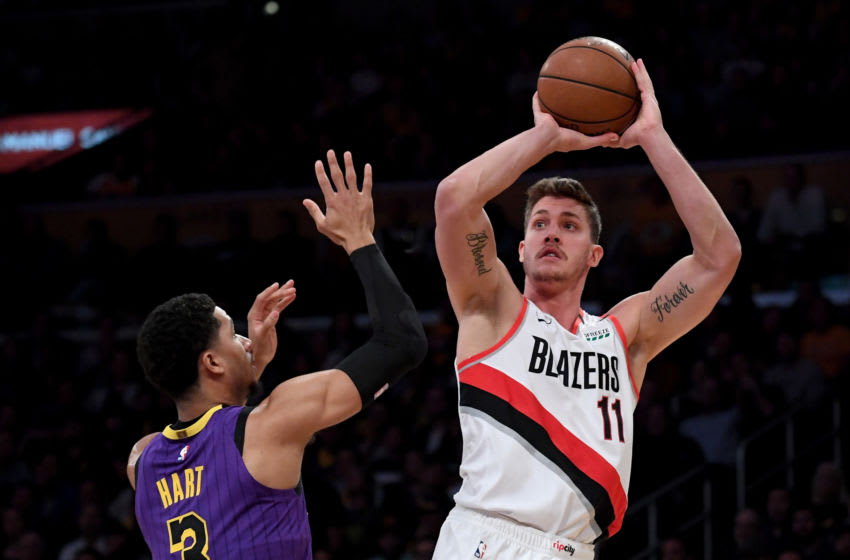 Meyers Leonard could be a free agent fit with the New Orleans Pelicans (Photo by Harry How/Getty Images)