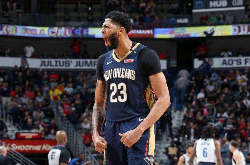 Anthony Davis New Orleans Pelicans (Photo by Layne Murdoch Jr./NBAE via Getty Images)