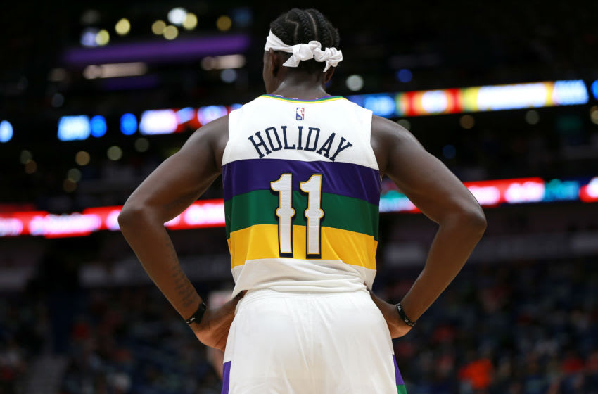 Jrue Holiday New Orleans Pelicans (Photo by Sean Gardner/Getty Images)