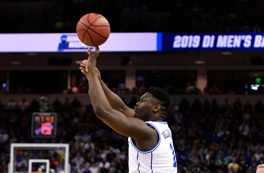 Zion Williamson Duke Blue Devils (Photo by Lance King/Getty Images)
