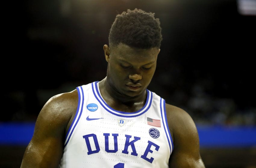Zion Williamson Duke (Photo by Kevin C. Cox/Getty Images)