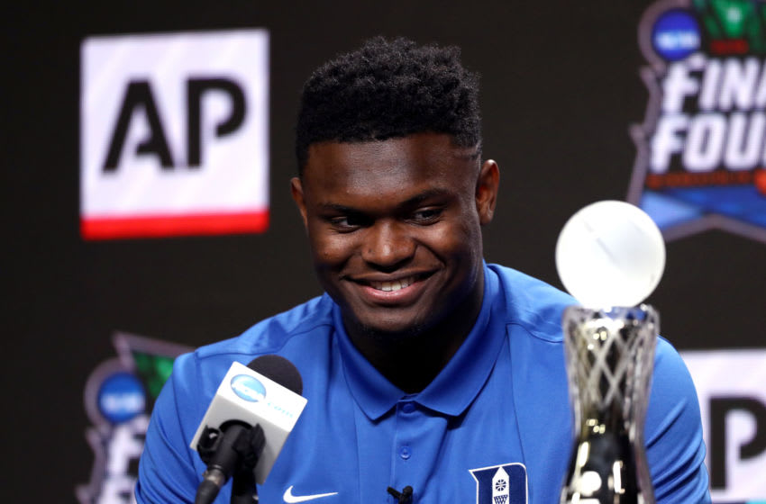 Zion Williamson (Photo by Mike Lawrie/Getty Images)
