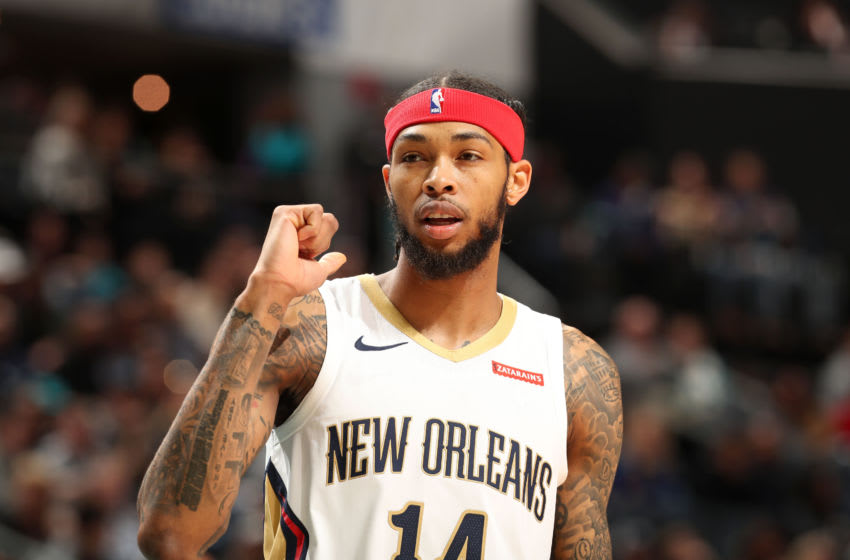 CHARLOTTE, NC - NOVEMBER 9: Brandon Ingram #14 of the New Orleans Pelicans: Copyright 2019 NBAE (Photo by Kent Smith/NBAE via Getty Images)