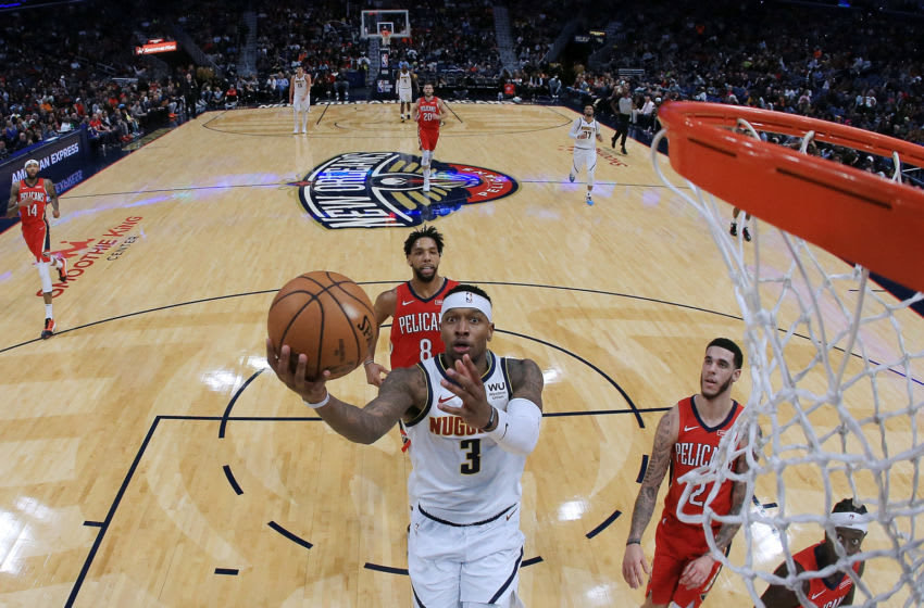 Torrey Craig #3 of the Denver Nuggets in action during a game against the New Orleans Pelicans (Photo by Jonathan Bachman/Getty Images)