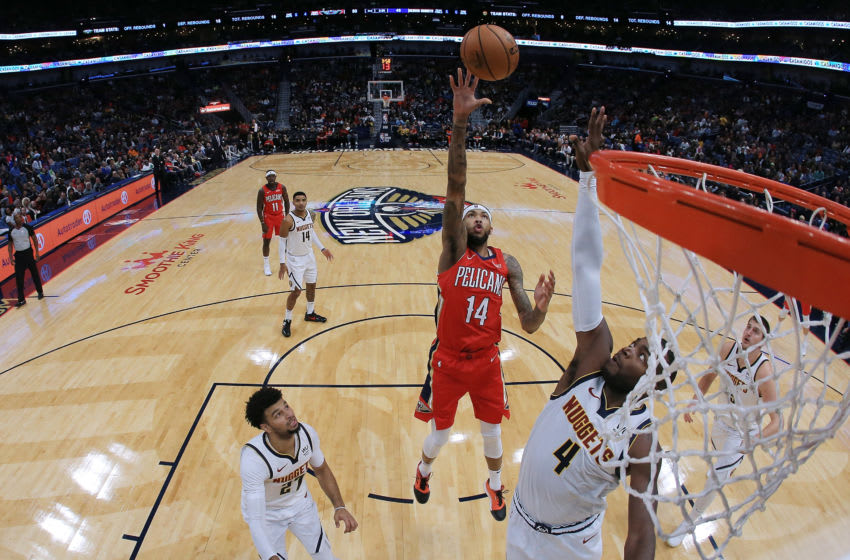 NEW ORLEANS, LOUISIANA - OCTOBER 31: Brandon Ingram #14 of the New Orleans Pelicans (Photo by Jonathan Bachman/Getty Images)