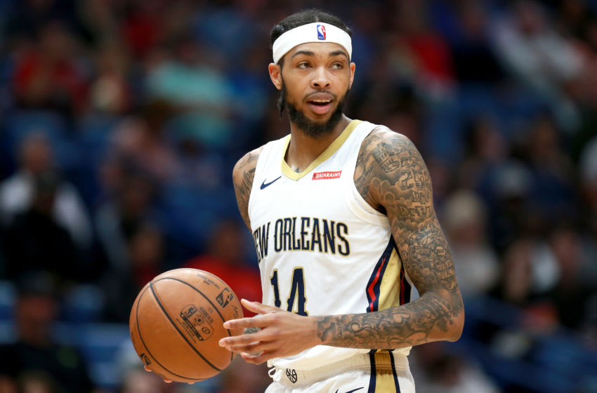 Brandon Ingram #14 of the New Orleans Pelicans:(Photo by Sean Gardner/Getty Images)