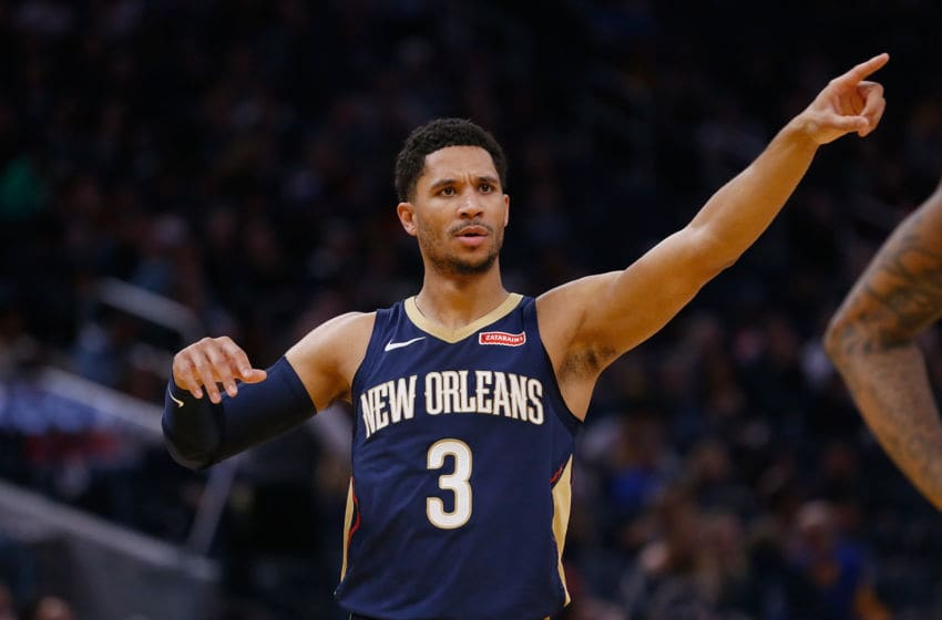Josh Hart #3 of the New Orleans Pelicans (Photo by Lachlan Cunningham/Getty Images)