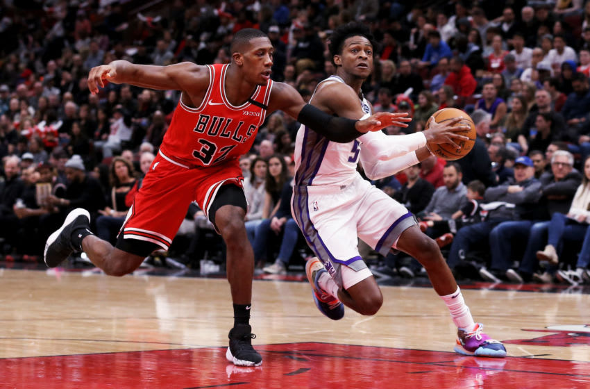 Kris Dunn of the Chicago Bulls could intrigue the New Orleans Pelicans (Photo by Dylan Buell/Getty Images)