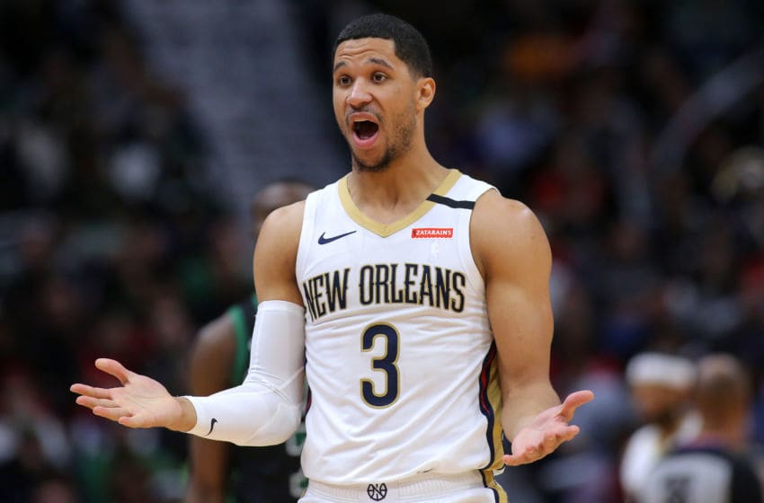 Josh Hart #3 of the New Orleans Pelicans (Photo by Jonathan Bachman/Getty Images)