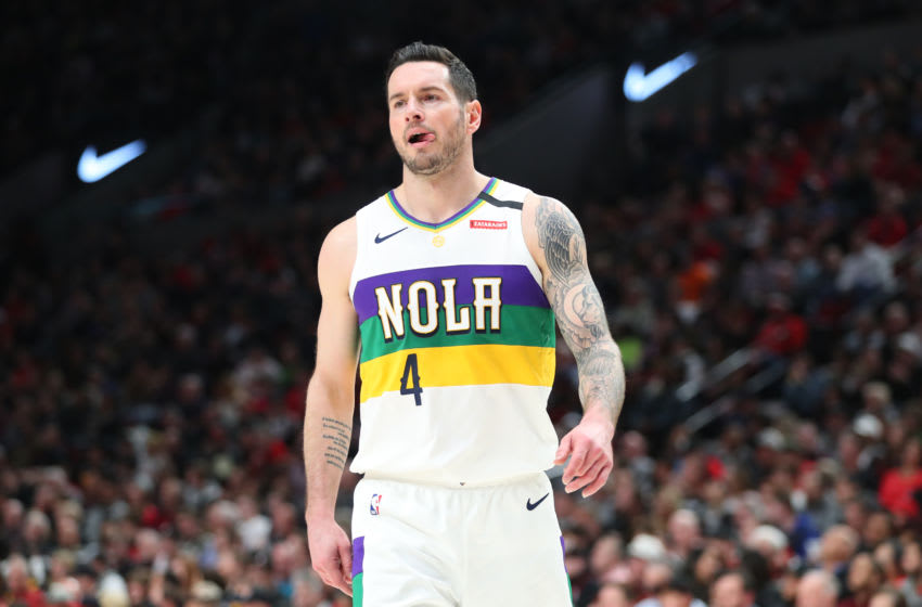 JJ Redick #4 of the New Orleans Pelicans is a valuable piece for the 2021 season. (Photo by Abbie Parr/Getty Images)